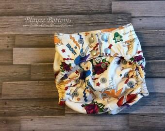 Rock Star Cloth Diaper Cover