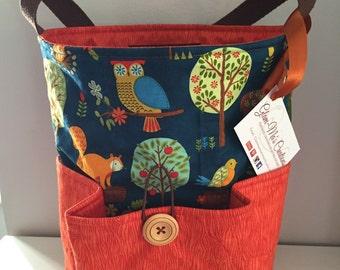 Woodland friends bag