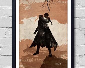 Avengers Thor. Poster