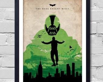 Batman Dark Knight Rises Poster home decor wall decor  art poster