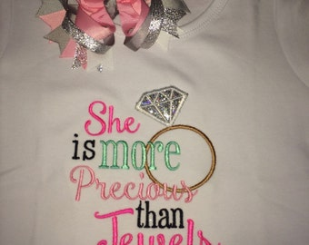 She Is More Precious Than Jewels Shirt