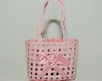 CLEARANCE-Small Favor Wicker Baskets for Party Favors and Small Goodies