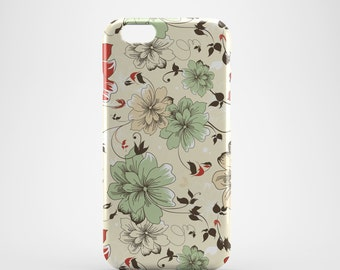 Pastel Flowers Phone case,  iPhone X Case, iPhone 8 case,  iPhone 6s,  iPhone 7 Plus, IPhone SE, Galaxy S8 case, Phone cover, SS131a
