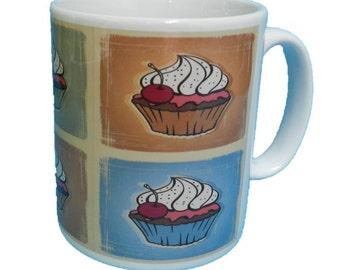 Cherry Cupcakes Mug