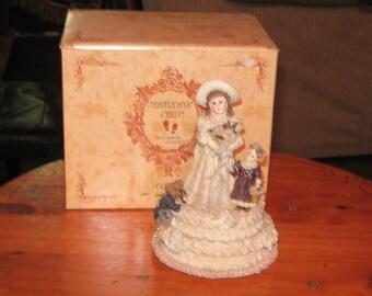 1995 Boyds Emily Kathleen Otis Misical Box Wedding March 272052 Yesturdays Child
