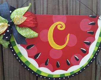 Slice of Watermelon Door Hanger