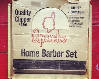 Vintage Apache Home Barber Set