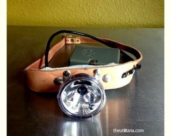 Antique Swiss Army Headlamp