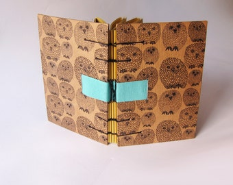 COPTIC BOUND journal /notebook.natural paper.COPTIC book