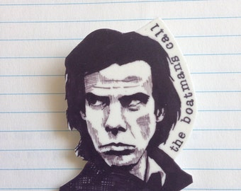 Nick Cave badge