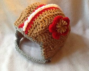 Crochet football helmets
