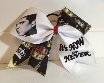 Elvis cheer bow
