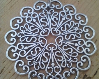 Lace Medallion necklace