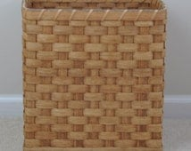 Weave Trash Basket Amish Made - could be used for multiple organization purposes