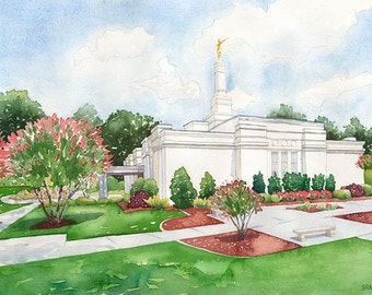 LDS (Mormon) Raleigh, NC Temple