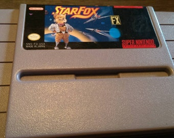 Star Fox for the Super Nintendo FREE SHIPPING