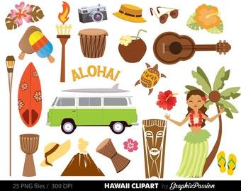 Hawaiian Luau Party clip art, Luau clipart Luau clip art Hawaii clipart, Tiki clipart, Aloha Clipart, Hawaii clipart, Beach party Clipart