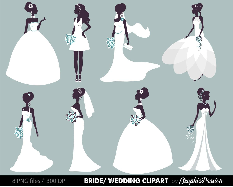 Fashion Wedding Dress Drawing