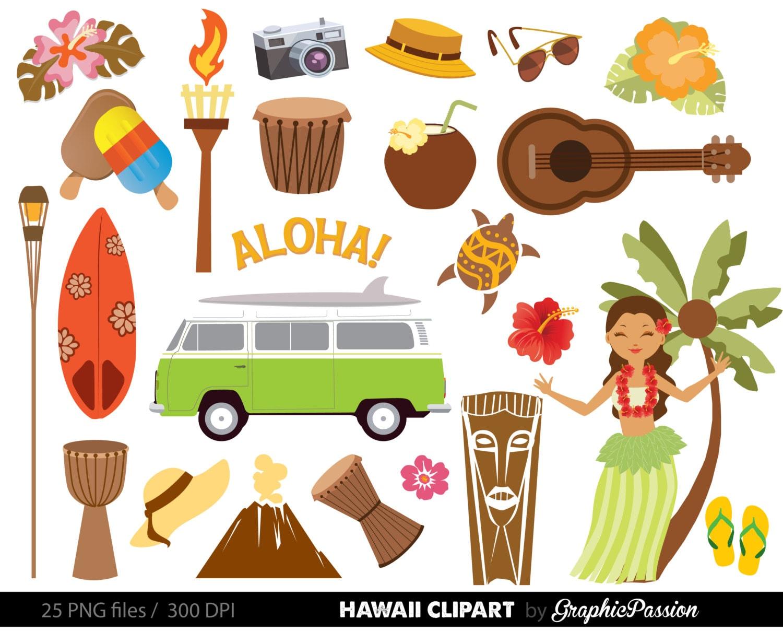 Clip Art Hawaiian Clipart hawaii clipart etsy hawaiian luau party clip art tiki aloha beach clipart