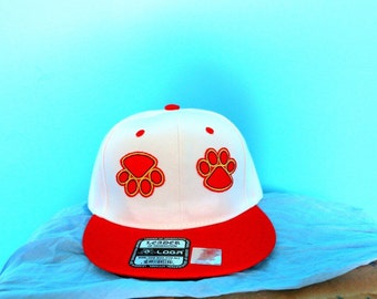 Bear Paw Two Tones Snapback Hat