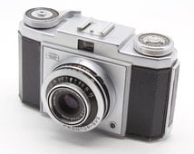 Zeiss-Ikon Contina Ia (type 526/24) 35mm Camera with Prontor-SVS + Case – c.1954 - GC - Lomography