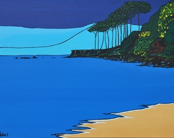 The Path to Helen's Bay (Print)