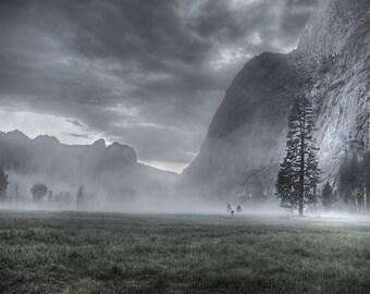 Sleepy Hollow, Yosemite, Half Dome, Camp4, NIght