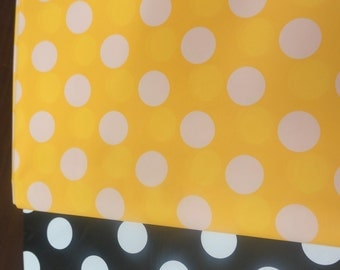 Batman Bumble Bee Black And Yellow Table Cover Table Decoration White Polka  Dot Photo Booth Back
