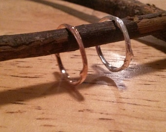 Twig Ring - Sterling Silver