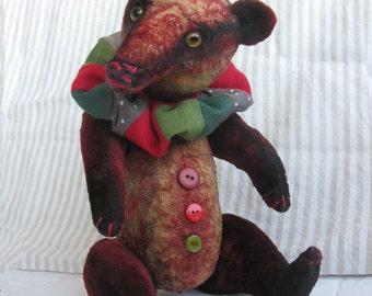 Zeva (artist teddy bear, vintage bear)