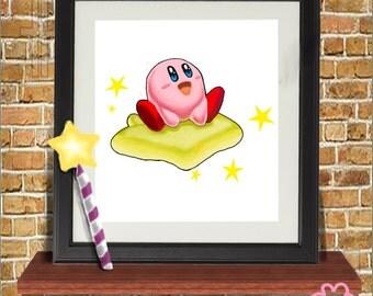 Kirby Series- Print