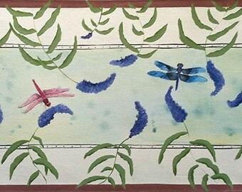 Dragonflies Floorcloth