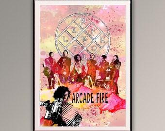 Arcade Fire Etsy