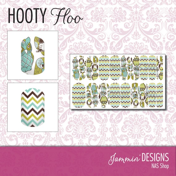 Hooty Hoo NAS (Nail Art Studio) Design