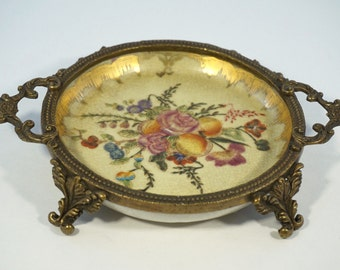 WL 1895 Ceramic Tray - Floral