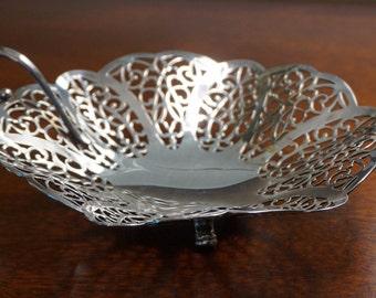 Lovelace Silver Plated Basket