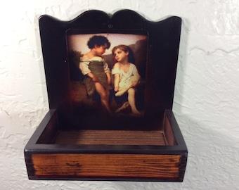 Vintage Wall Box