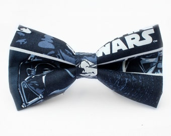 Star Wars Bow Tie, Mens Bow Tie, Dog Bow Tie, Darth Vader, Luke Skywalker, Kids Bow Tie