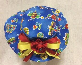Butterflies Dog hat