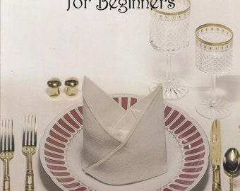 Decorative Napkin Folding for Beginners - Home Decor Patterns - How-To Tutorial
