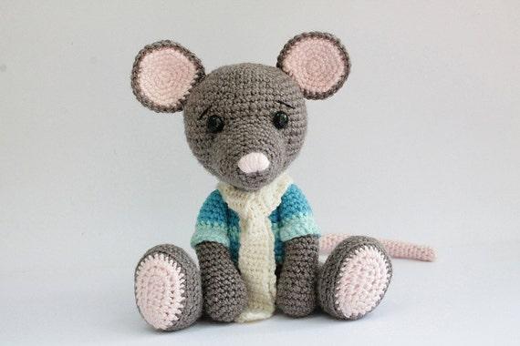 Amigurumi Receitas Portugues : PATTERN : Mouse Mice Amigurumi Mouse pattern-Crochet