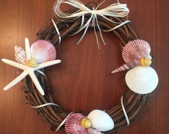 """Coastal Wreath 10"""" diameter"""