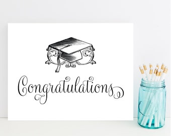 Graduation Card - Graduation Congratulations Card - Fast Graduation Card