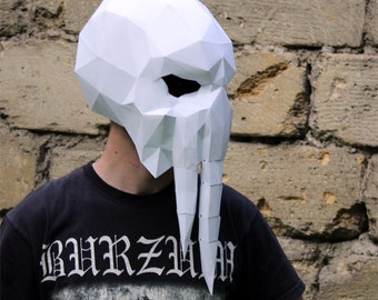 Make your own Cthulhu Mask by Dimons