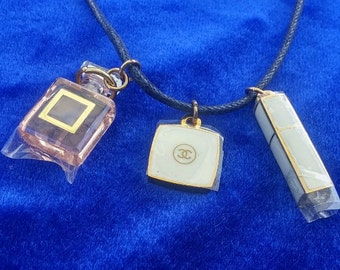CHANEL COCO Minature ~ VIP Gift Necklace ~ Extremely Rare Limited  from  made in France  Mint  Like New Condition