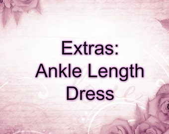 Extras: Ankle Length Tutu Dress