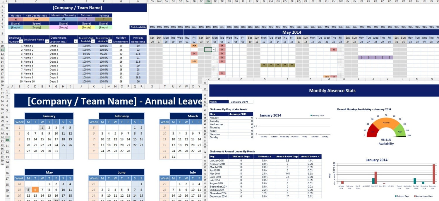 how to calculate unused annual leave