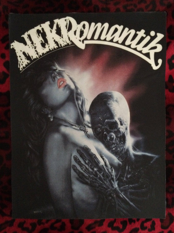 Nekromantik Back Patch 11 X 14 5 Horror Punk
