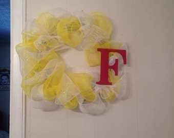 Personalized Spring Wreath/ home decor
