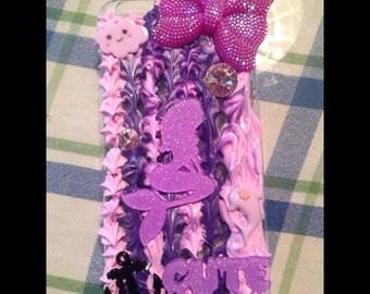 Purple iPhone 6 plus mermaid case